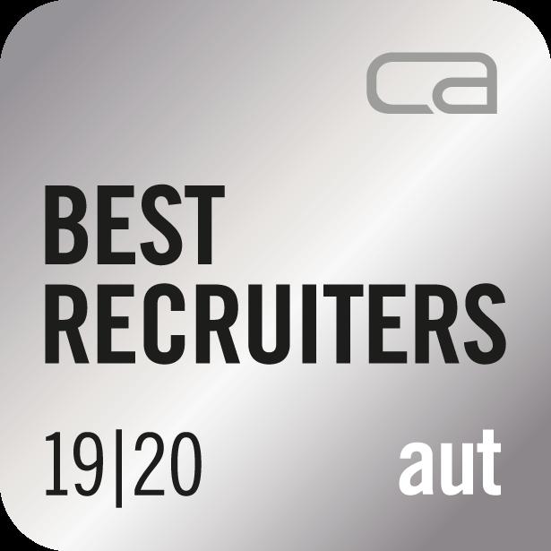 Auszeichnung Best Recruiter 19/20