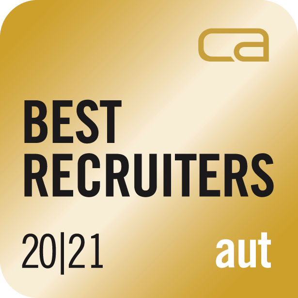 Auszeichnung Best Recruiter 20/21
